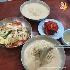[BY 디너의여왕] 콩국수의 계절이자나!!서울 콩국수 맛집 #01 / 여왕이가 애정하는 단골 맛집'맛자랑' ...