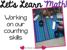 Pocket Full of Kinders!: Lots of math centers with freebies