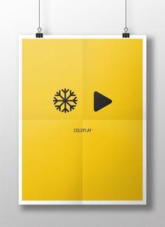 Minimalistic Band Logos - Coldplay.