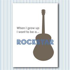 Rockstar print