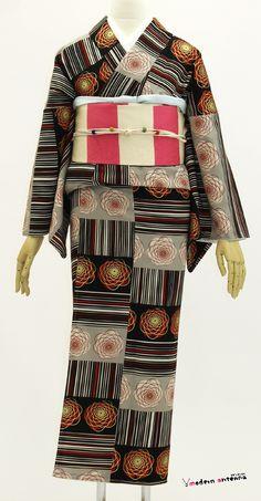 Kimono and obi by Modern Antenna