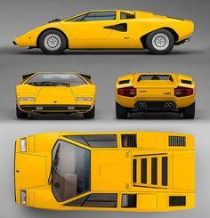gentlecar:  Lamborghini Countach LP400
