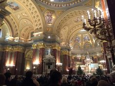 Christmas rite from St. Stephen's Basilica