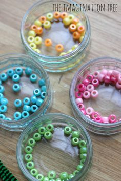 The Imagination Tree: Threading with Pipe Cleaners and Beads