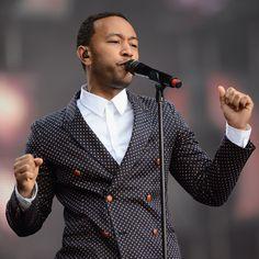 John Legend at THE SOUND OF CHANGE LIVE concert in London on June 1st