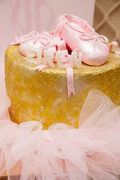 The Party Wagon - Blog - PINK AND GOLD BALLET PARTY
