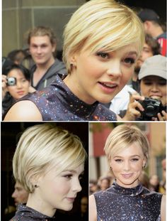 Carey Mulligan 2010 – Carey Mulligan 2010 – # # Related posts:Chic Look Celebrities Hairstyles in Pixie CutHair short haircuts kris jenner ideasVery Short Stacked Bob with Layers Bob Hairstyles For Fine Hair, Pixie Hairstyles, Carey Mulligan Hair, Short Hair Cuts, Short Hair Styles, Corte Y Color, Hair Today, Hair Dos, Hair Trends