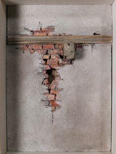 Mural Art, Wall Murals, Wall Art, Break Wall, Brick Arch, Wargaming Terrain, Mirror Painting, Old Wall, Military Diorama