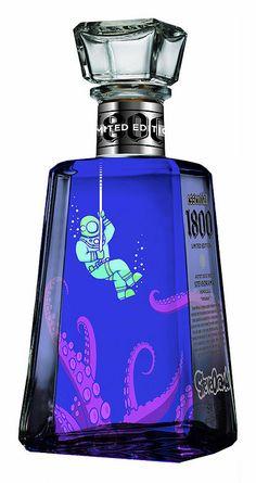 Tequila Bottle - I  want this  fantasti spirit!