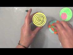 TUTO: Activité pour enfants: Comment faire une toupie optique?