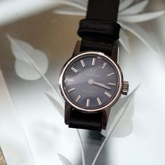 Omega Geneve Analog Vintage Lady's Wristwatch #Omega #Vintage