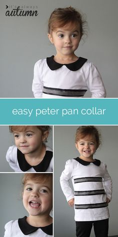 easy peter pan collar sewing tutorial