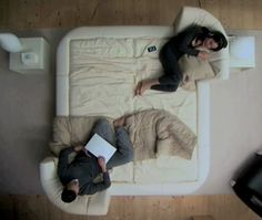 de Sede Leather Beds Negate The Need To Move Out During Lovers Fights! photo