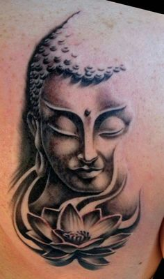 - Nice… You are in the right place about Nice… Tattoo Design And Style Galleries On The Net – Ar - Buddha Tattoo Design, Buddha Tattoos, Tribal Sleeve Tattoos, Black Ink Tattoos, Geometric Tattoos, Kali Tattoo, Tattoo Crane, Lotus Tattoo, Tattoo Ink