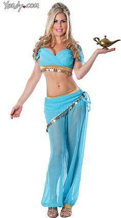 Sexy Genie Halloween Costume