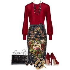 03/29/15 by longstem on Polyvore featuring moda, Dolce&Gabbana, Gianvito Rossi, Braccialini, Kenneth Cole, Tat2 Designs, Irene Neuwirth and ASOS