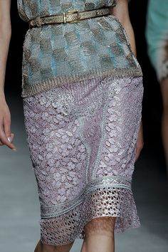 Luscious lace skirt by Angelo Marani s/s 2012