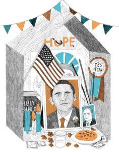 Le Monde - Obama - amélie fontaine