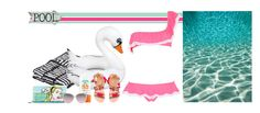 """""""Frilly in pink"""" by blueeyed-dreamer ❤ liked on Polyvore featuring Wrong for Hay, Big Mouth, Elina Linardaki, Je m'en fous, Icon, Pink, swimwear, ruffles and polyvorecontest"""
