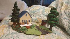 Rt 66 Farmhouse, modified Hershey  ceramic
