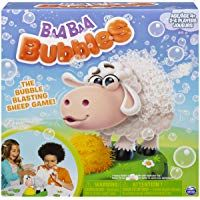 Spin Master Games 6053962 Baa Bubbles, Bubble-Blasting Game with Interactive Sneezing Sheep, for Kids Aged 4 & Up Bubble Games For Kids, Family Games For Kids, Family Game Night, Games To Play, Baa Baa, Having A Blast, Kids And Parenting, Your Cards, Spinning