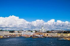 View of Helsinki from the sea #helsinki #finland #market #street #helsinkidesignstreet #travel #architecture #sky #europe #sea #houses #keskusta #picoftheday #show #pictures #photos #helsinkisecret #goodbye #visithelsinki #myhelsinki #igtravel #tervetuloa # #suomi #visitfinland #visitscandinavia #tuomiokirkko #photoofday #photooftheday #travel