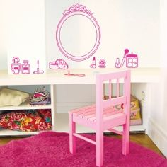 MIMI'lou Wandtattoo Beauty Salon. Mimi'lou has the cutest wallstickers! Love all Mimi'lou products...
