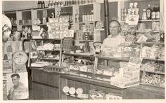 de winkel van Boschje op Puntenburg, Amersfoort, jaren 60.