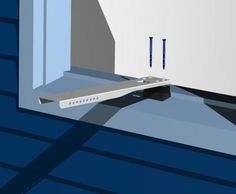 how to install window air conditioner brackets