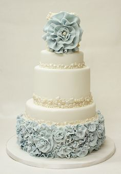 42 Most pretty wedding cake ideas. http://www.modwedding.com/2014/02/02/40-dazzling-wedding-cakes-from-lulu-cake/ #wedding #weddings #cakes
