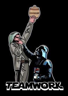 Teamwork  Star Wars