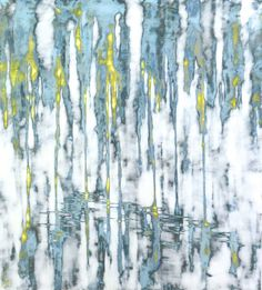 Ruth Bachofner Gallery, Audra Weaser, Sensing (2014), Mixed media acrylic on panel, 60 × 54 in
