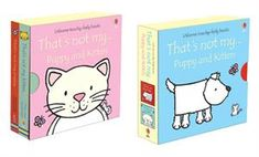 That's Not My… Puppy & Kitten Box Set - Usborne Books & More This gift set includes two of our best-selling Touchy-Feely books, and would make a perfect gift! Good Books, My Books, Board Books For Babies, Bright Pictures, Toddler Books, Child Love, Fun Learning, Fun Activities, Book Worms