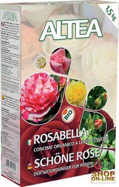 ALTEA ROSABELLA CONCIME ORGANICO GRANULARE PER ROSE, SIEPI E ARBUSTI kg. 1,5 http://www.decariashop.it/altea/458-altea-rosabella-concime-organico-granulare-per-rose-siepi-e-arbusti-kg-15.html
