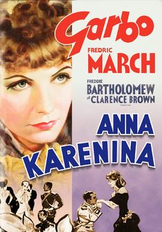 Anna Karenina 1935  Basil Rathbone, Clarence Brown, Drama Romance, Ethel Griffies, Freddie Bartholomew, Fredric March, Greta Garbo, Maureen O'Sullivan, May Robson, Reginald Denny, Reginald Owen