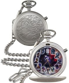 'If any of your were looking for a last minute gift idea- I've got one.'  How cool is this!!! fob-watch
