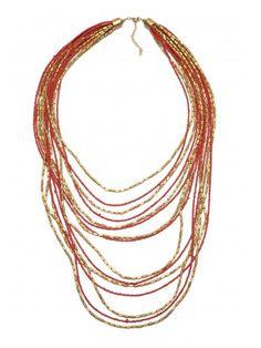 BORRO Red Necklace