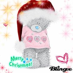 Teddy Bear Pictures, Bear Graphic, Blue Nose Friends, Bear Cartoon, Cute Teddy Bears, Tatty Teddy, Merry Christmas And Happy New Year, Christmas Images, Custom Photo