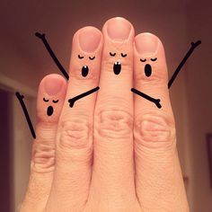 Fingers choir by sean_charmatz Finger Art, Finger Plays, Sad Girl Photography, Creative Photography, Art Drawings Sketches Simple, Cute Drawings, Cartoon Drawings, Creative Instagram Stories, Instagram Story Ideas