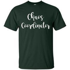 Chaos T shirts Chaos Coordinator Hoodies Sweatshirts