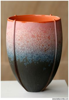 Ted Secombe: Vessel with crystalline glaze. http://www.tedsecombe.com/