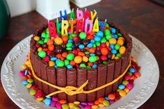 Chocolate Birthday Cake For Children | Cake Decor Ideas