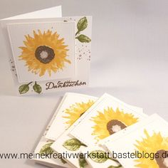 Stampin'Up!, Herbstanfang, Sonnenblume