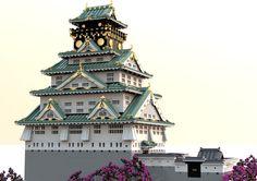 Osaka Castle Tenshukaku 01   오사카성(大阪城, Osaka Castle) 천수각(天守閣…   Flickr