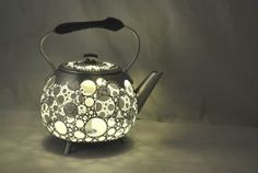 Cute!  Gilles Eichenbaum's up-cycled teapot collection…