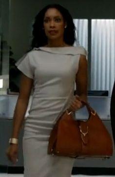 Jessica Pearson in white dress