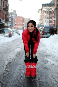 Nice to see you cool in Snow Pants and Jacket by Stella McCartney,