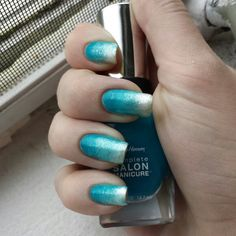 Frozen nails. Best. Movie. Ever! Frozen Nails, My Nails, Nail Polish, Nail Art, Skin Care, Turquoise, Movie, Makeup, Hair