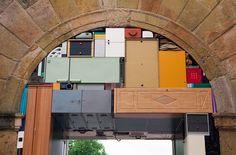 Michael Johansson | Public Square, 2015 | Furniture, ordinary items | Dimensions: 4 x 6 x 2,9 m