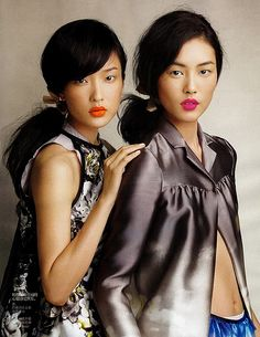 Du Juan & Liu Wen by Luminous Phenomenon, via Flickr